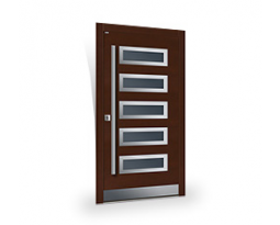 Top Design INOX | Parmax® Wooden Doors: Exterior and interior