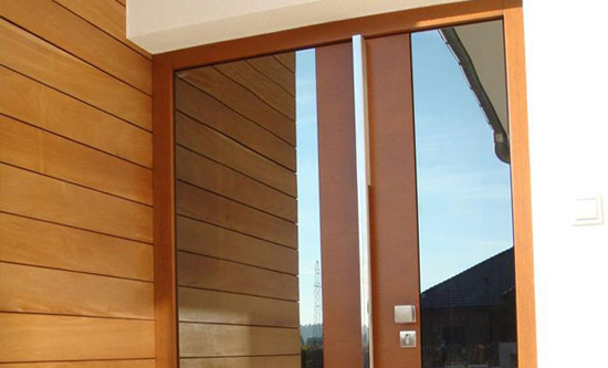 Top Design GLASS, Parmax® Wooden Doors: Exterior and interior